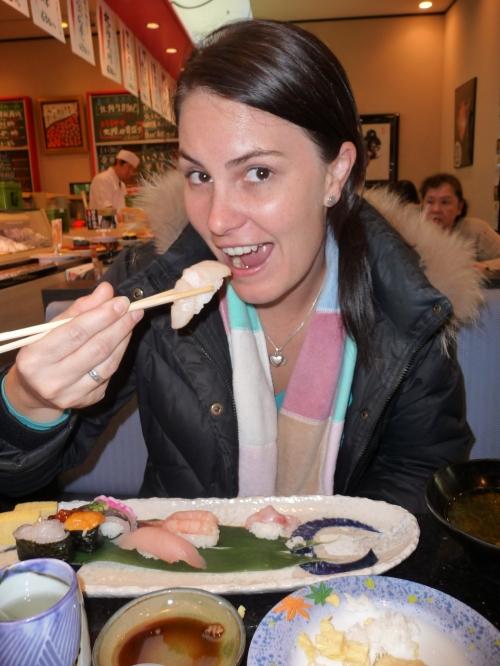 The Sashimi episode
